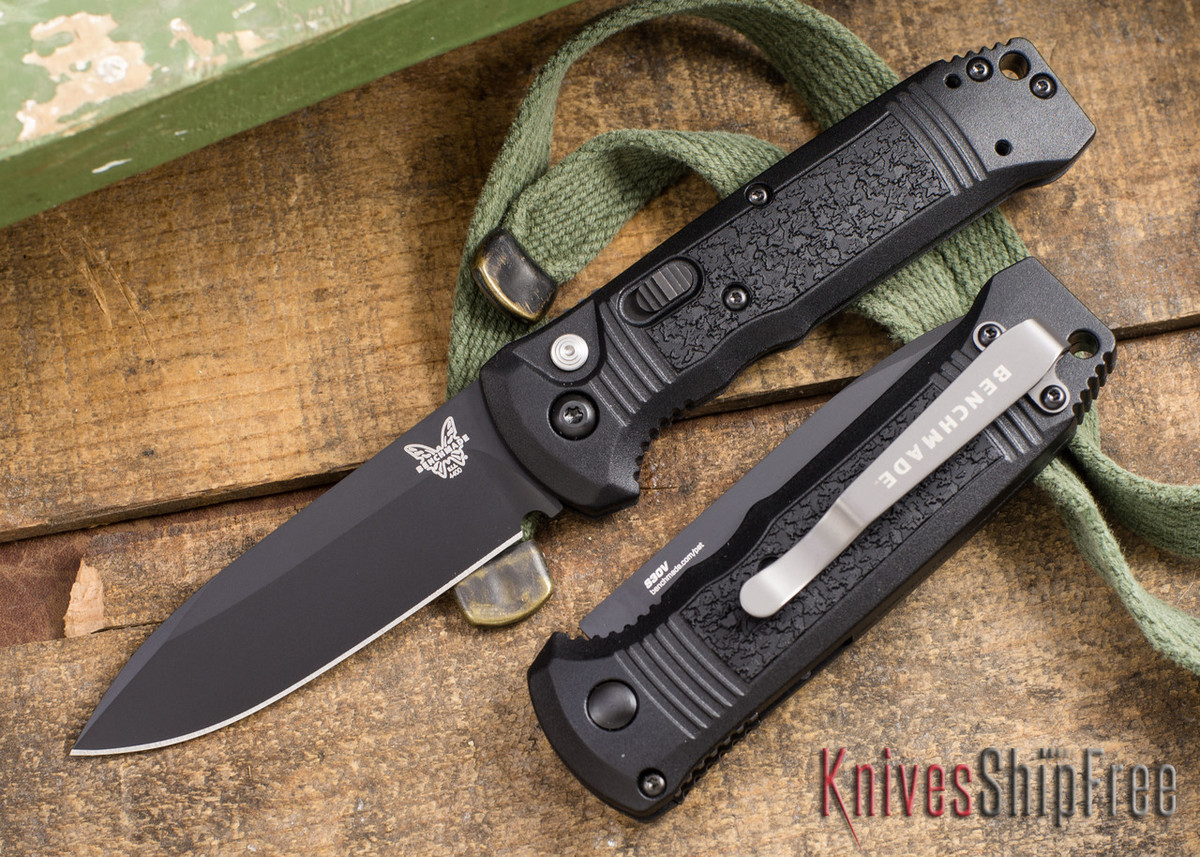 Benchmade Knives: 4400BK Casbah - Auto - Black Blade primary image
