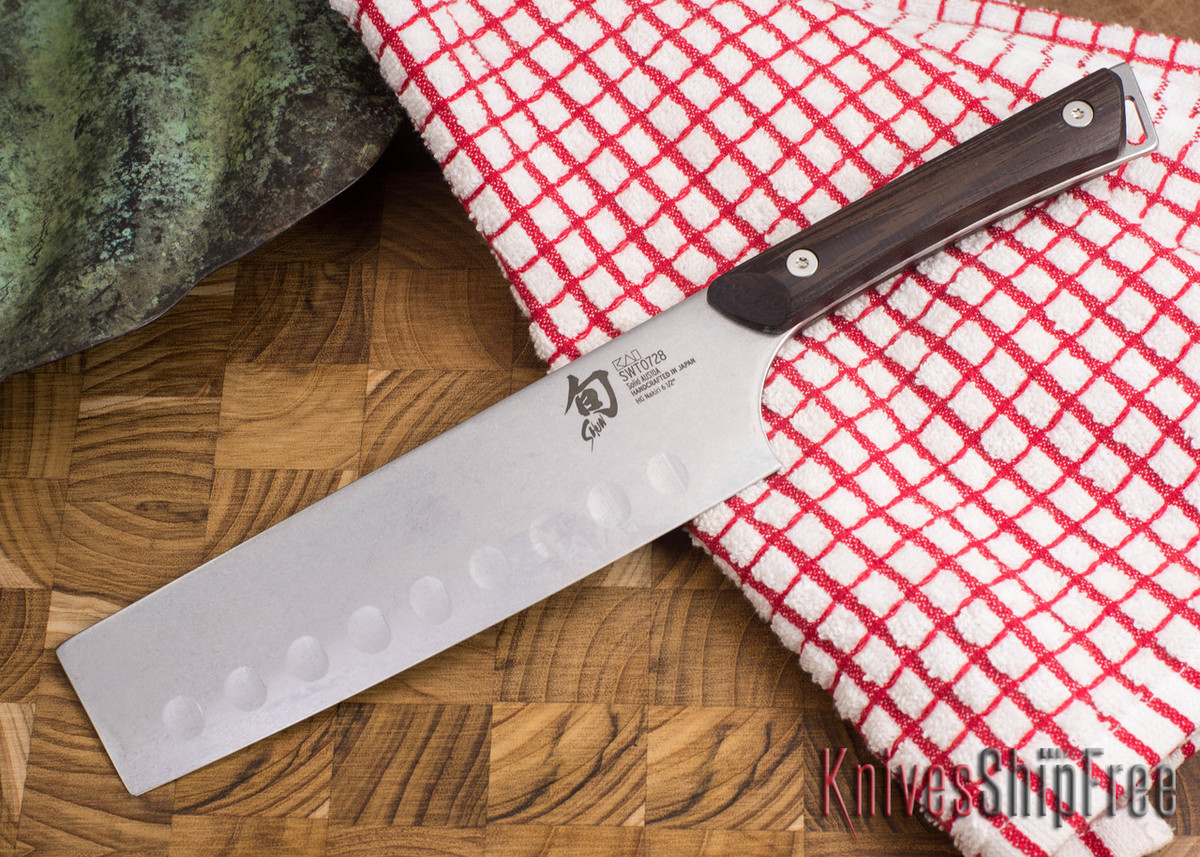 "Shun Knives: Kanso HG Nakiri 6 1/2"" - SWT0728 primary image"