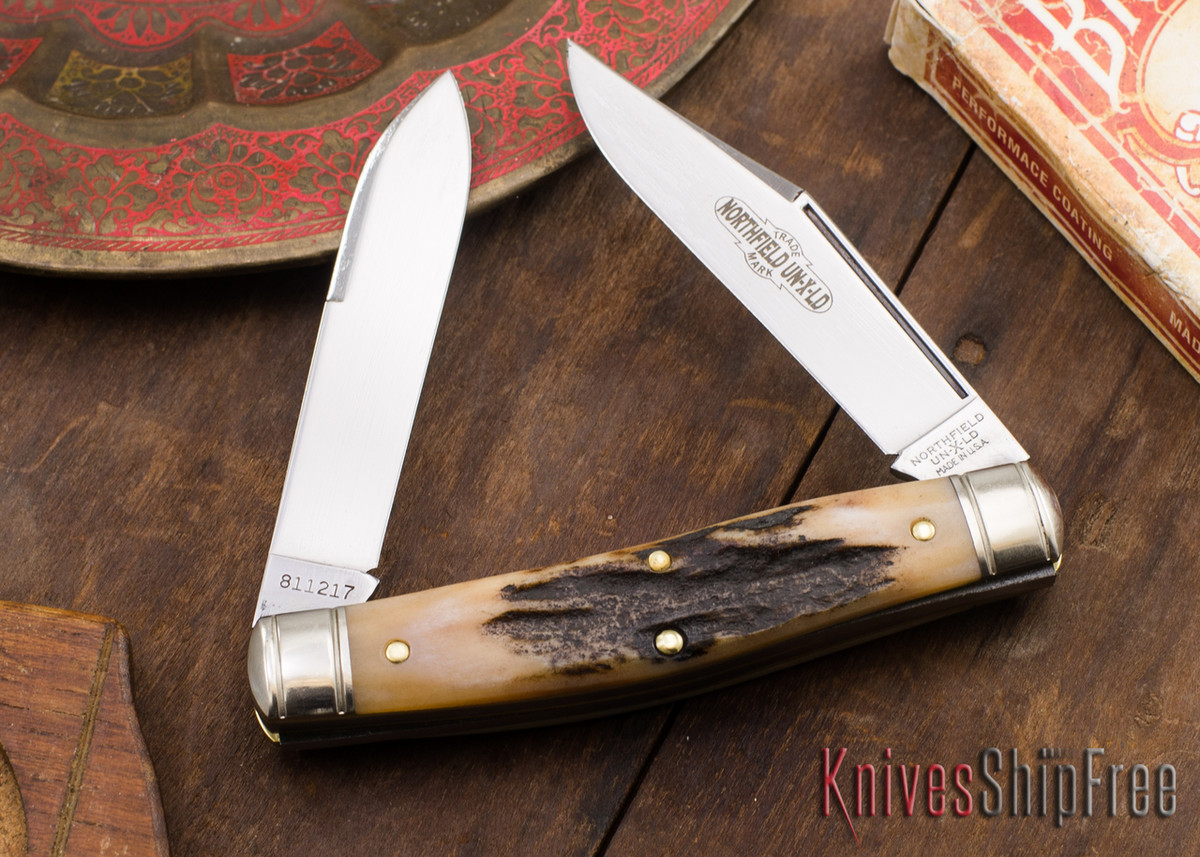 Great Eastern Cutlery: #81 Bull Moose - Northfield UN-X-LD - Sambar Stag 29 primary image