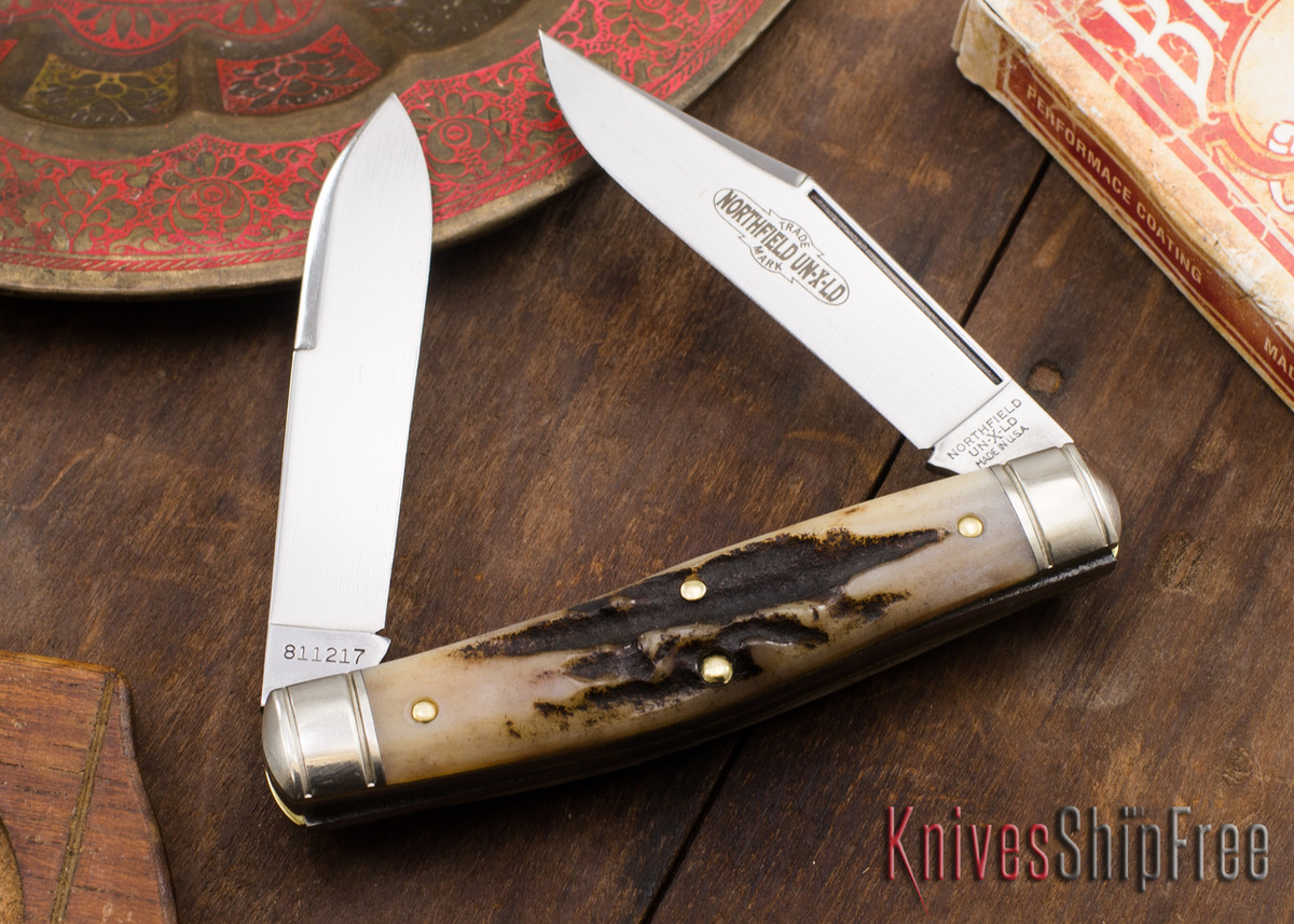 Great Eastern Cutlery: #81 Bull Moose - Northfield UN-X-LD - Sambar Stag 56 primary image