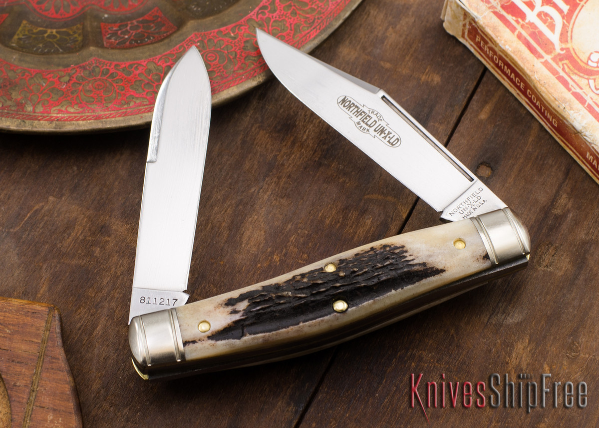 Great Eastern Cutlery: #81 Bull Moose - Northfield UN-X-LD - Sambar Stag 69 primary image