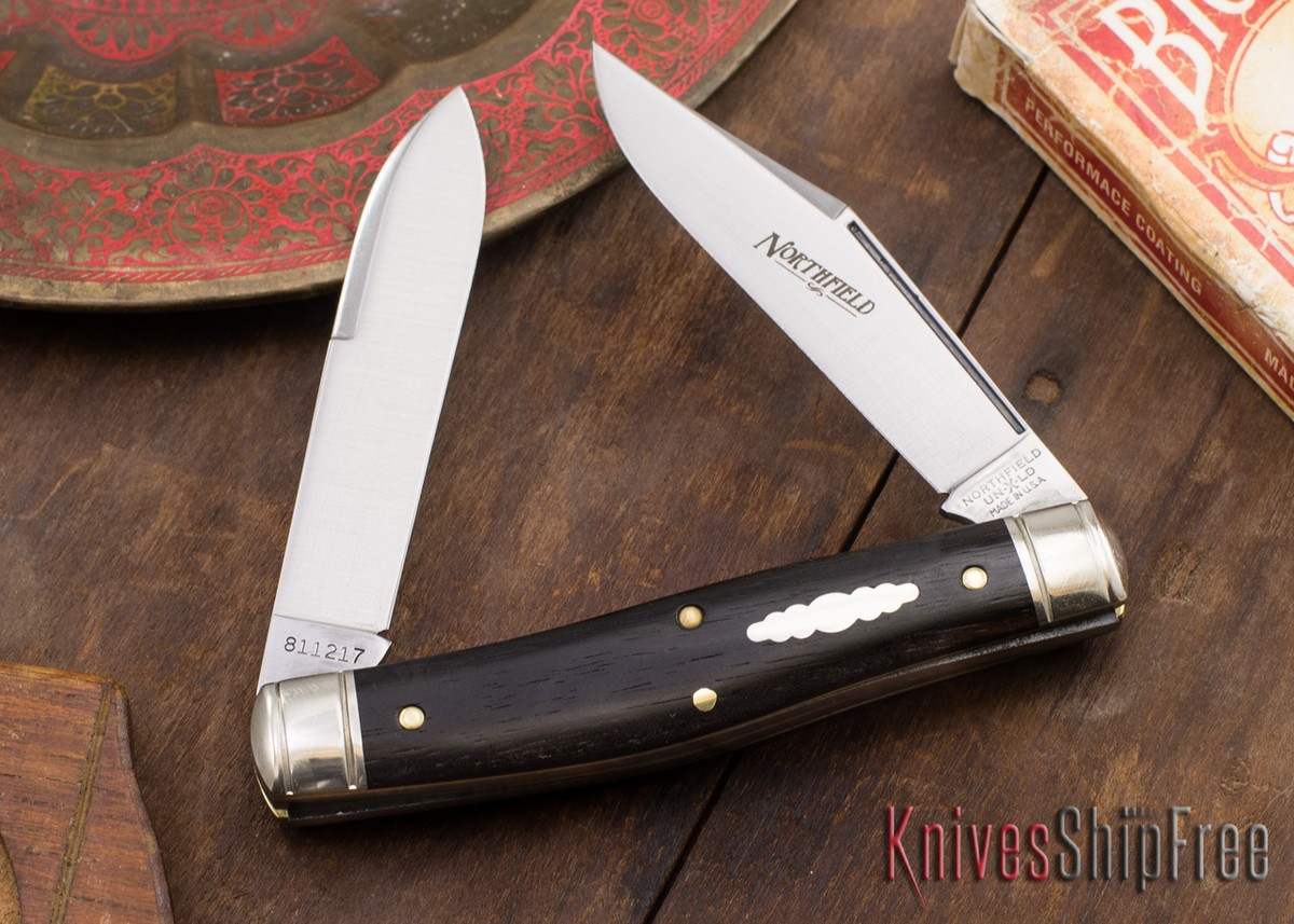 Great Eastern Cutlery: #81 Bull Moose - Northfield UN-X-LD - Gabon Ebony - Satin primary image