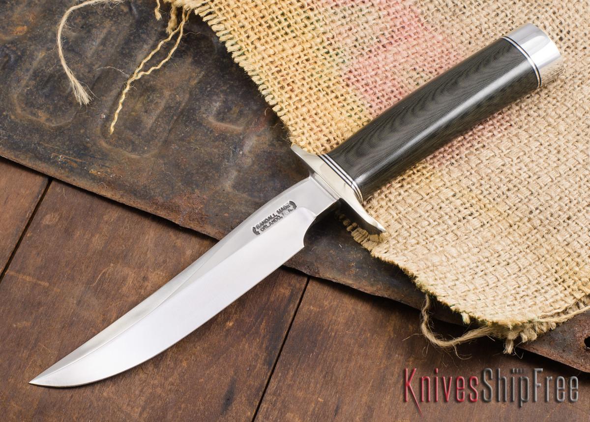 Randall Made Knives: Model 3-6 Hunter - Black Micarta - 120916 primary image