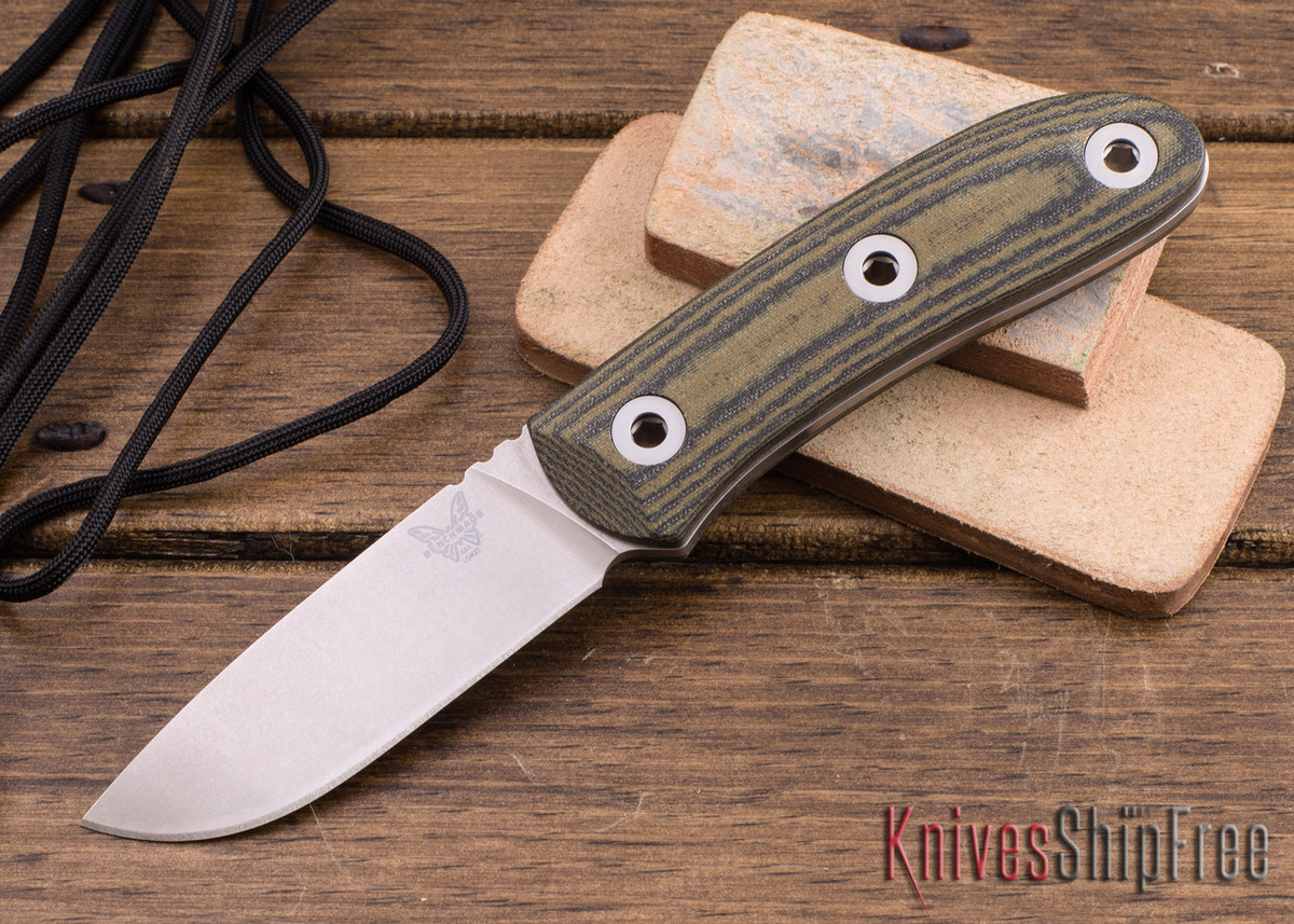 Benchmade Knives: 15400 Mel Pardue Hunter - Micarta - CPM-S30V - Fixed Blade primary image
