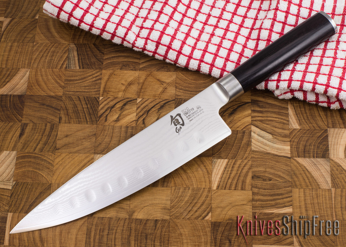 """Shun Knives: Classic Hollow Ground Chef's Knife 8"""" - DM0719 primary image"""