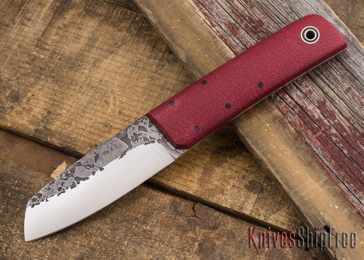 Fiddleback Forge: Chief - Ruby Burlap - FF08BD010 primary image