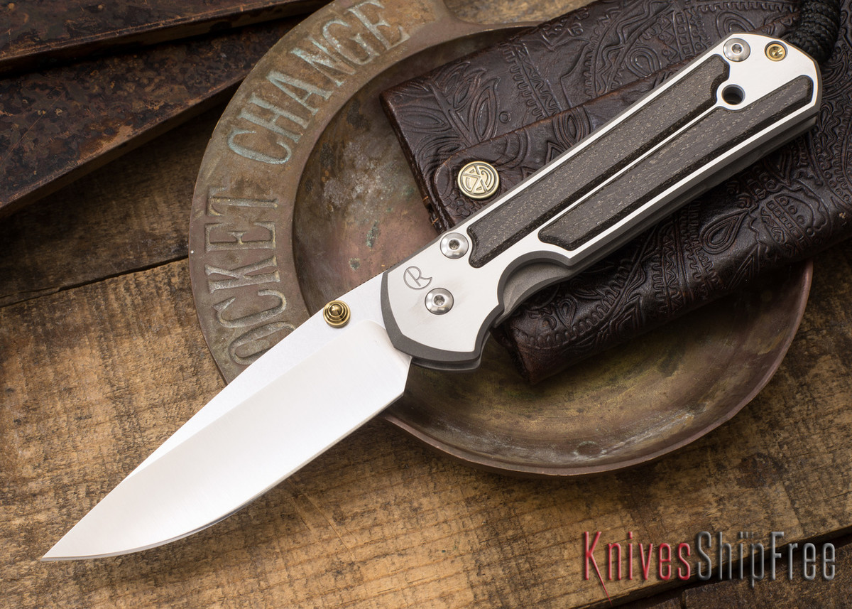 Chris Reeve Knives: Large Sebenza 21 - Bog Oak - 021507