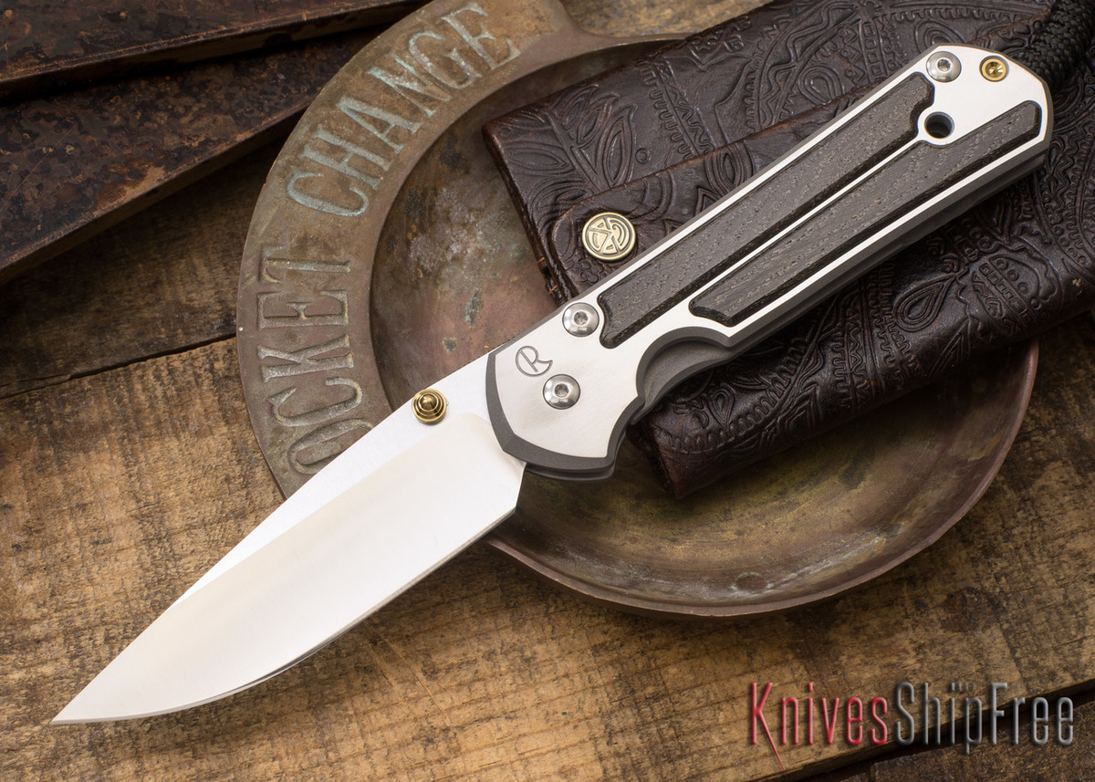 Chris Reeve Knives: Large Sebenza 21 - Bog Oak - 021509 primary image