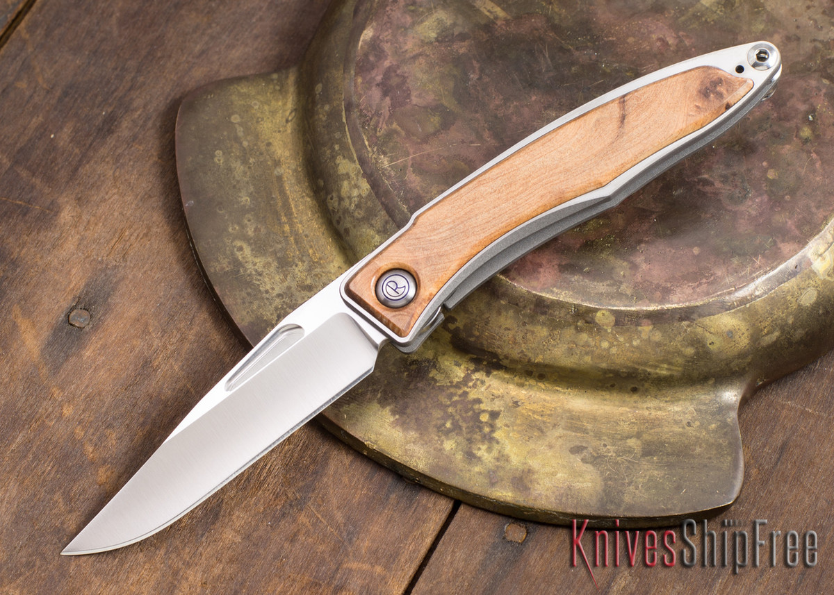Chris Reeve Knives: Mnandi - Thuya Burl - 021603 primary image