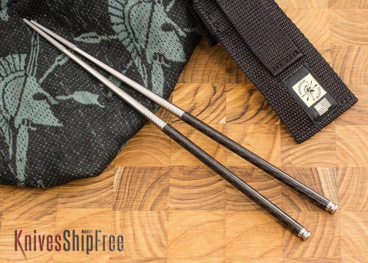 Spartan Blades: Chopsticks - Titanium & Carbon Fiber primary image