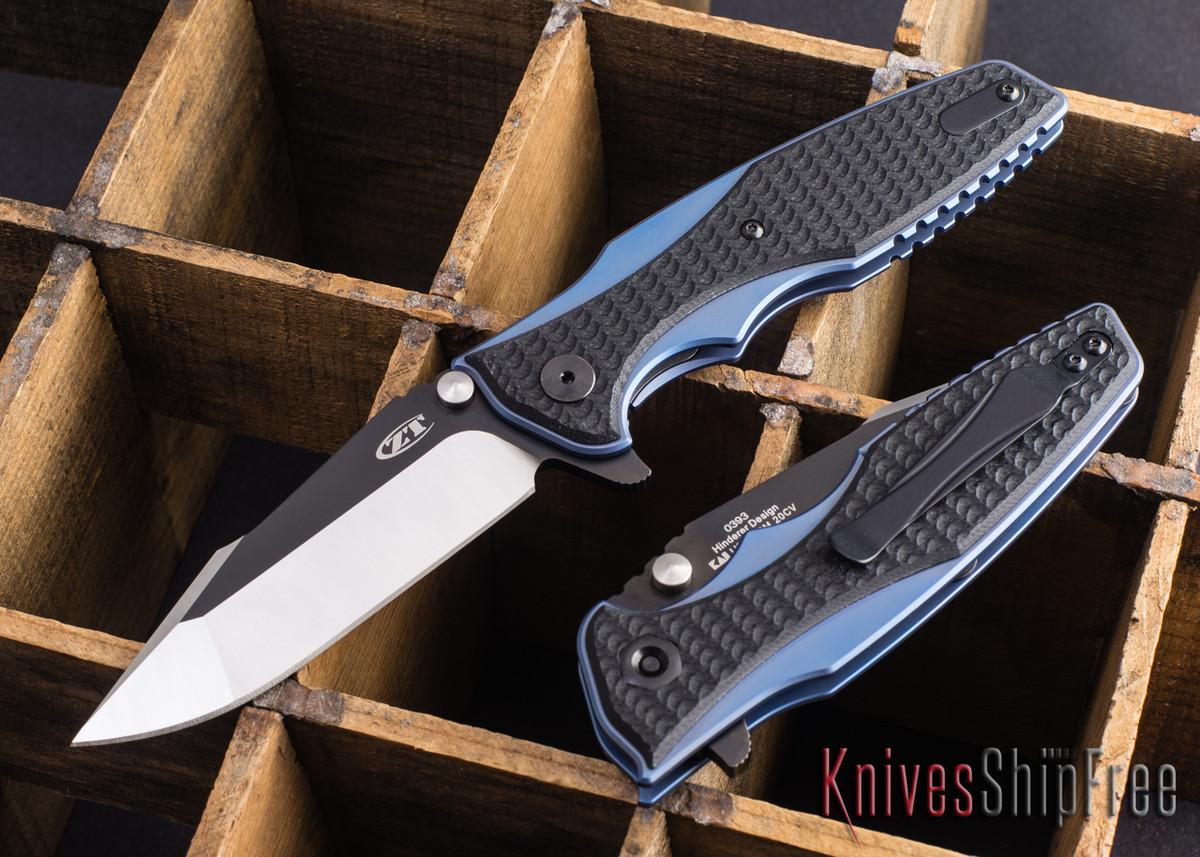 Zero Tolerance 0393 Hinderer Flipper Folding Knife Review
