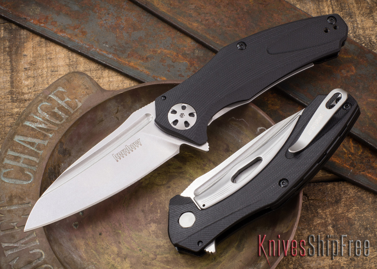 Kershaw Knives: Natrix - Assisted Flipper - 3D Machined Black G-10 - 7007 primary image