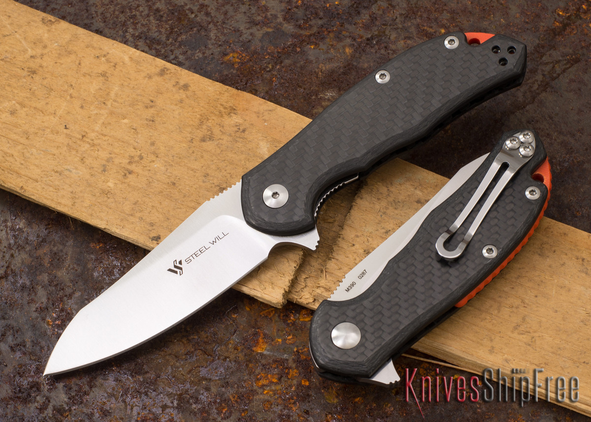 Steel Will Knives: Modus - Carbon Fiber - M390 Steel primary image