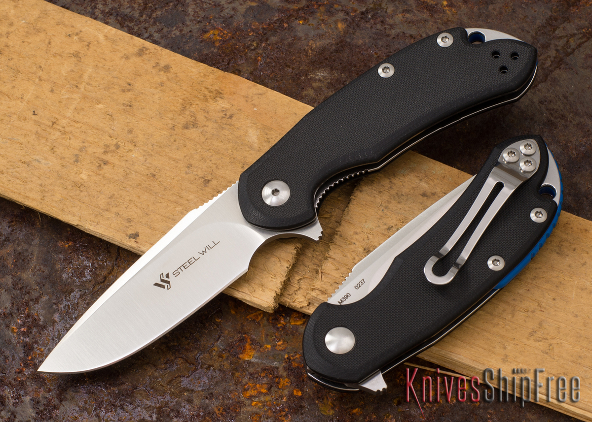 Steel Will Knives: Cutjack Mini - Black G-10 - M390 Steel primary image
