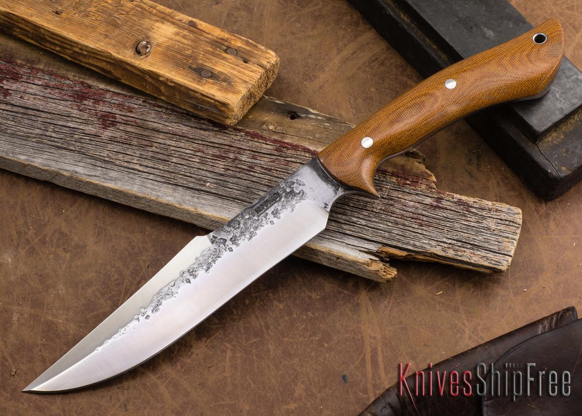Lon Humphrey Knives: Hellhound - Natural Micarta primary image