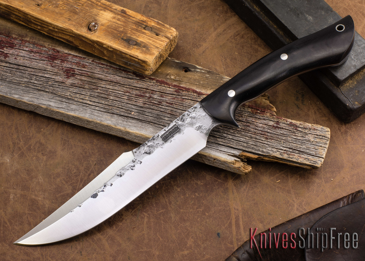 Lon Humphrey Knives: Hellhound - Black Micarta primary image