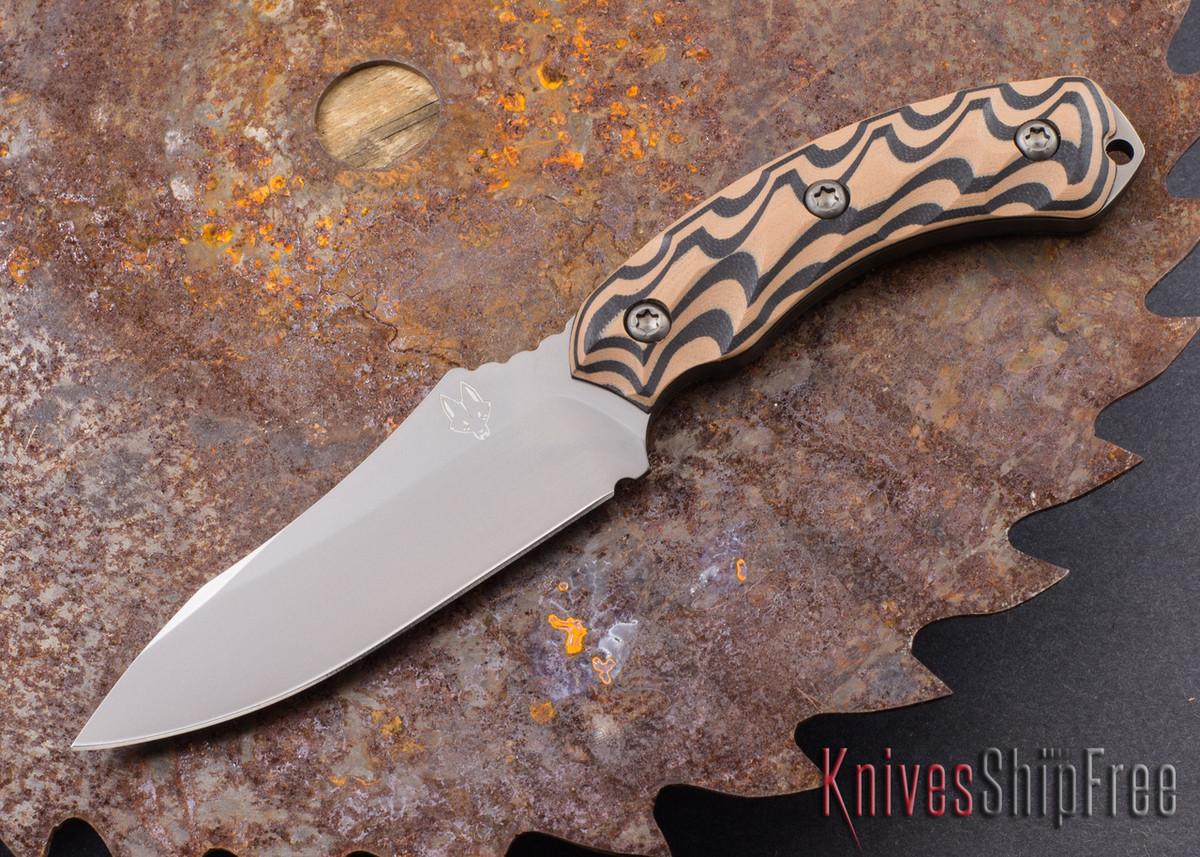 Southern Grind: Jackal - Gunmetal Blade - Black & Tan G-10 - Black Kydex Sheath primary image