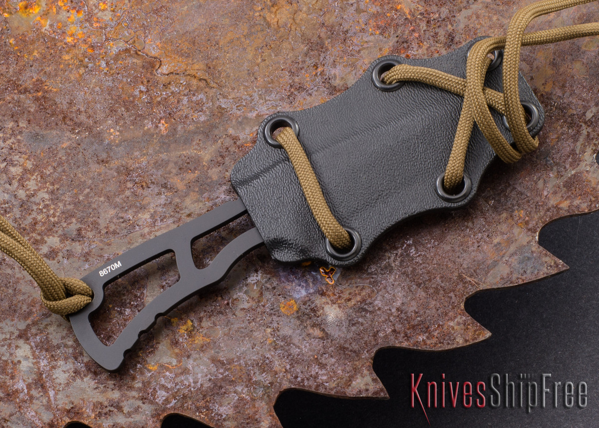 Southern Grind: Vermin - Black Tanto Blade - Black Kydex Sheath primary image