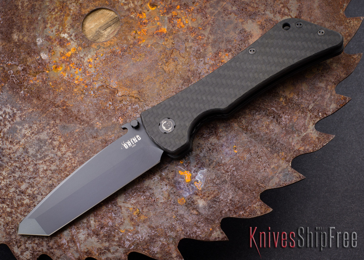 Southern Grind: Bad Monkey - Emerson Tanto Black Blade - Carbon Fiber