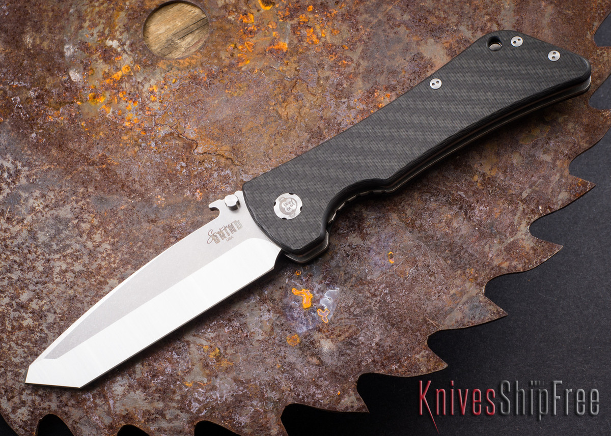 Southern Grind: Bad Monkey - Emerson Tanto Satin Blade - Carbon Fiber