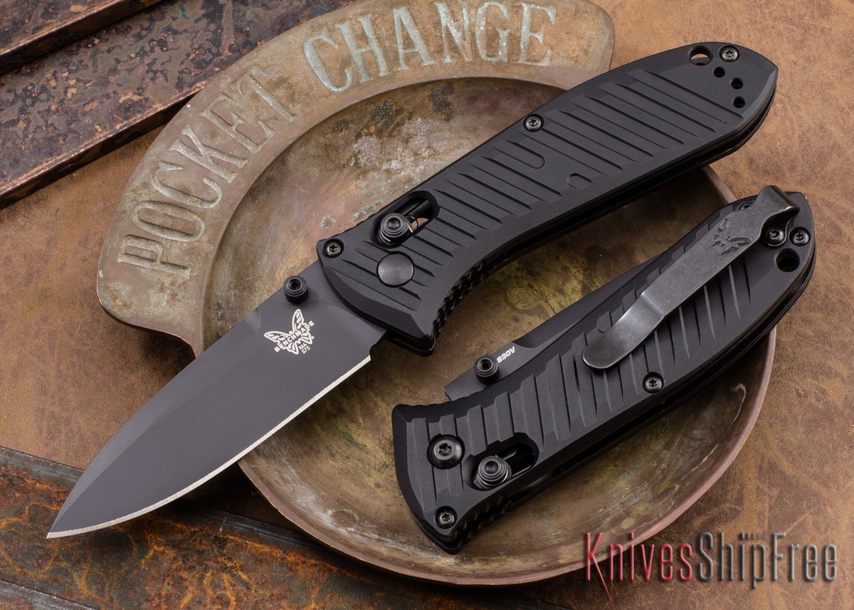 Benchmade Knives: 575BK Mini Presidio II - Black Blade - AXIS Lock primary image
