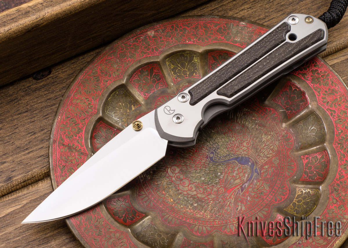 Chris Reeve Knives: Large Sebenza 21 - Bog Oak - 040451 primary image