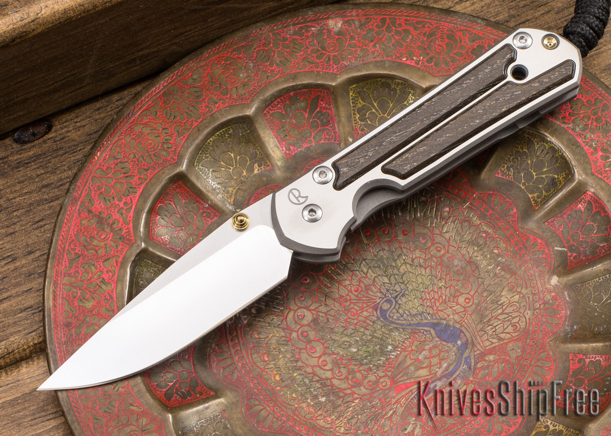 Chris Reeve Knives: Small Sebenza 21 - Bog Oak - 040909 primary image