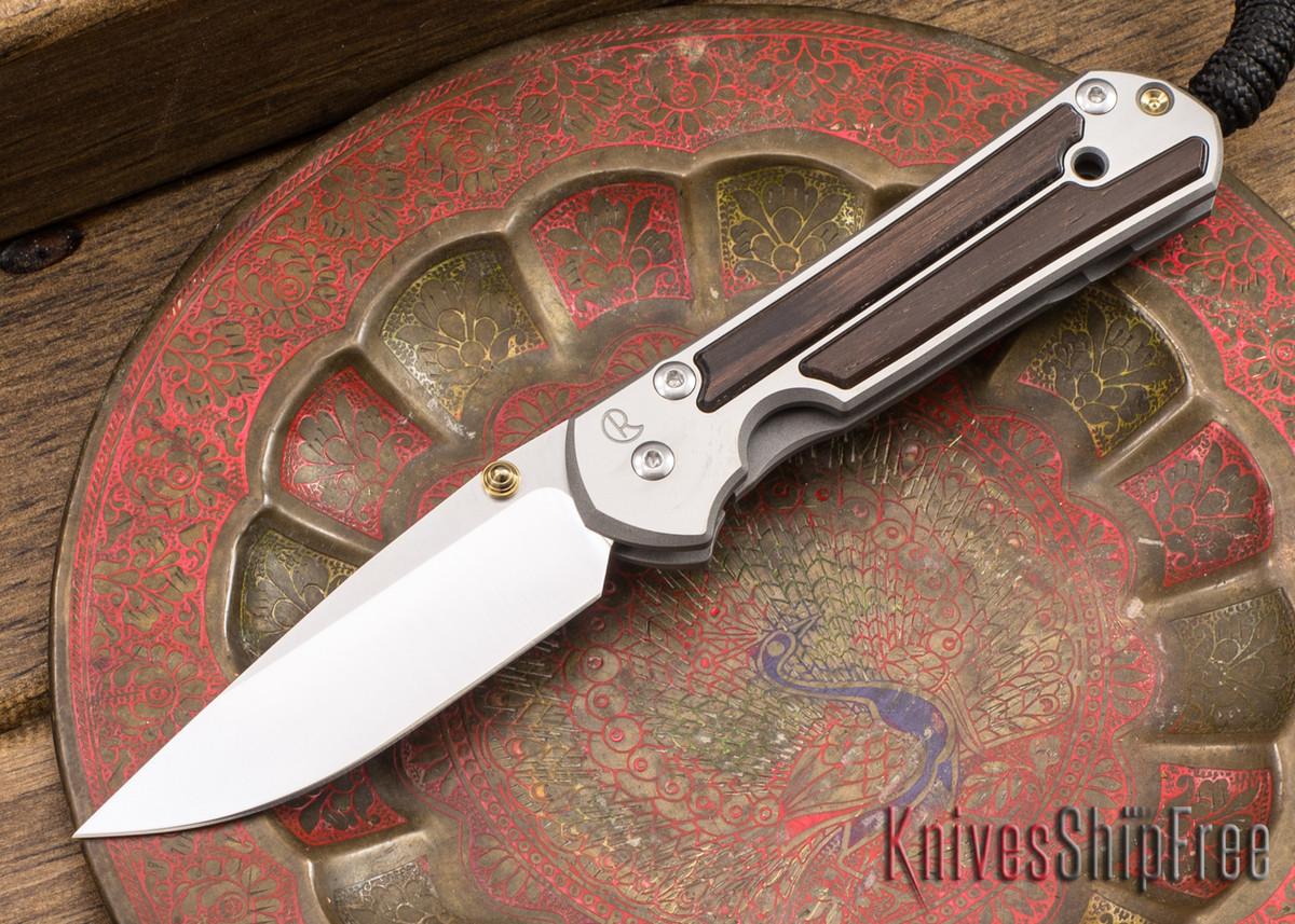 Chris Reeve Knives: Small Sebenza 21 - Macassar Ebony - 040918 primary image