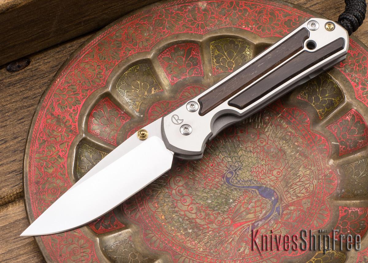 Chris Reeve Knives: Small Sebenza 21 - Macassar Ebony - 040919 primary image