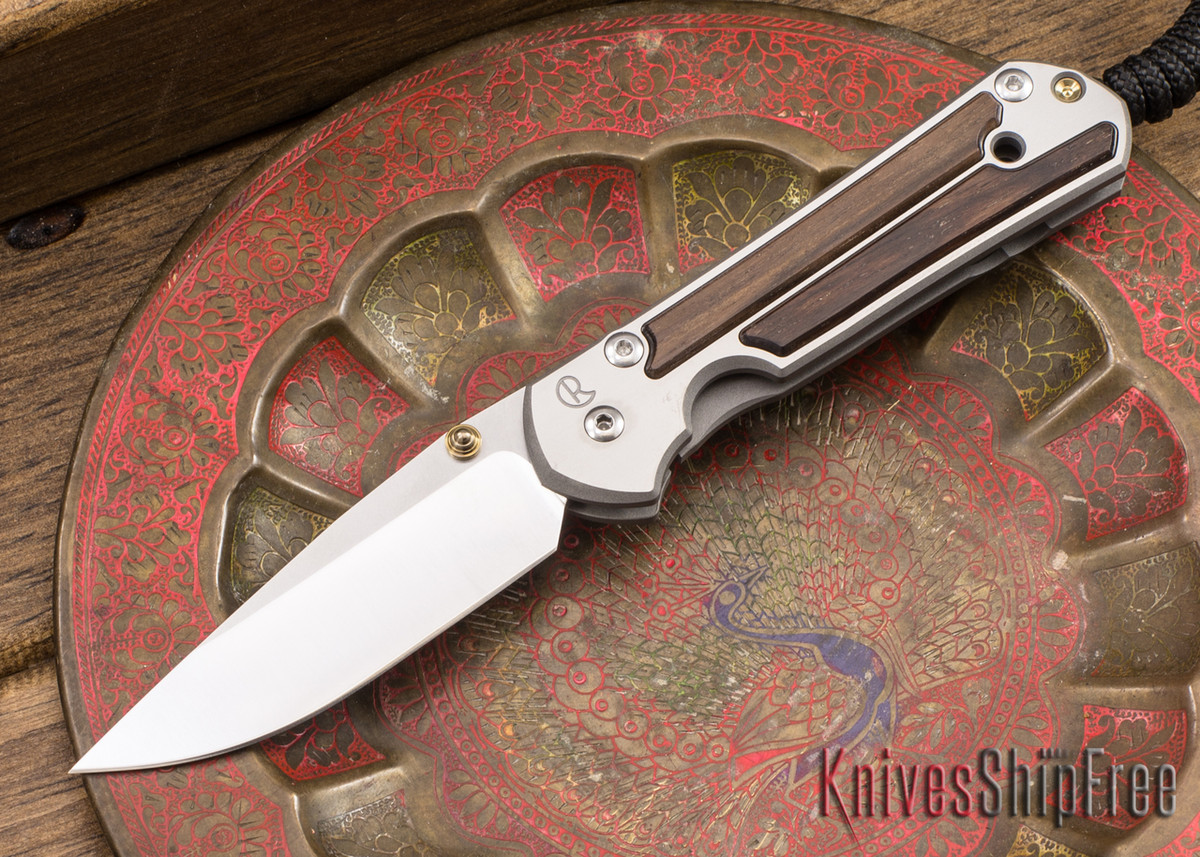 Chris Reeve Knives: Small Sebenza 21 - Macassar Ebony - 040920 primary image
