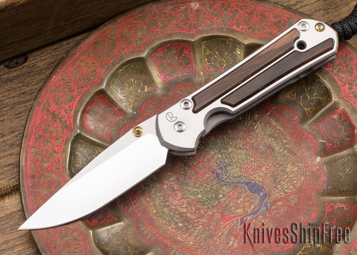 Chris Reeve Knives: Small Sebenza 21 - Macassar Ebony - 040921 primary image