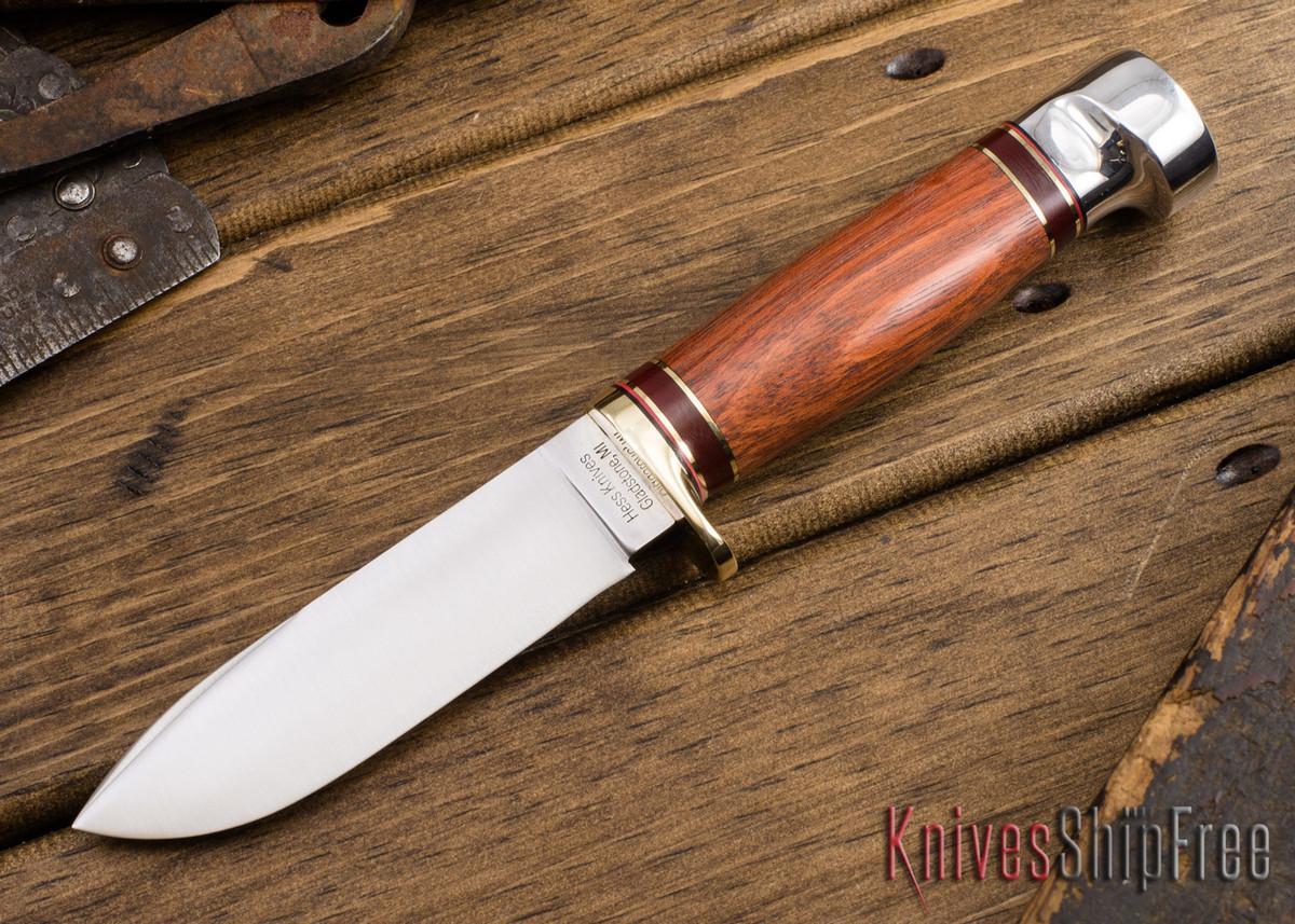 Hess Knifeworks: Tiburon - Bloodwood - HK09DD005 primary image