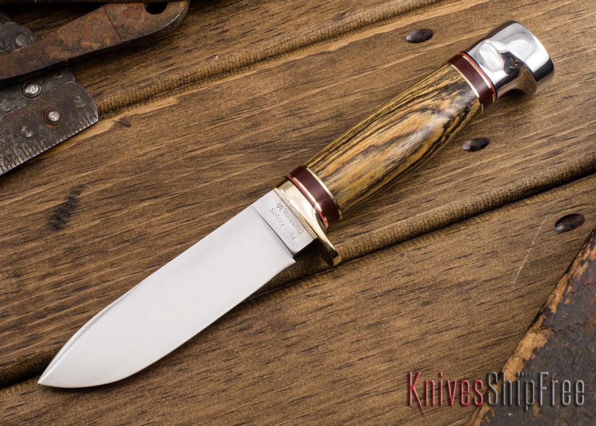 Hess Knifeworks: Tiburon - Bocote - HK09DD007 primary image