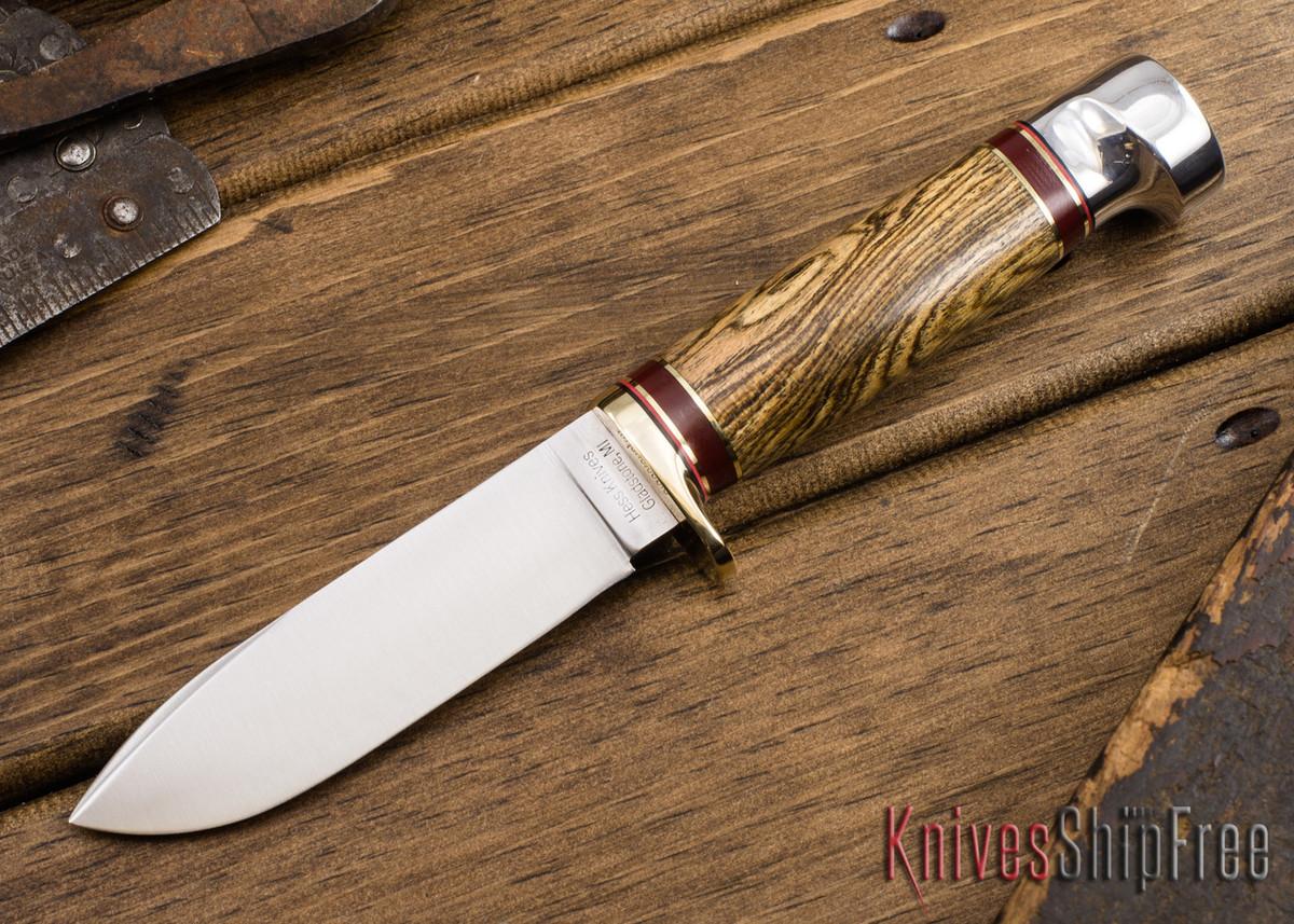 Hess Knifeworks: Tiburon - Bocote - HK09DD008 primary image