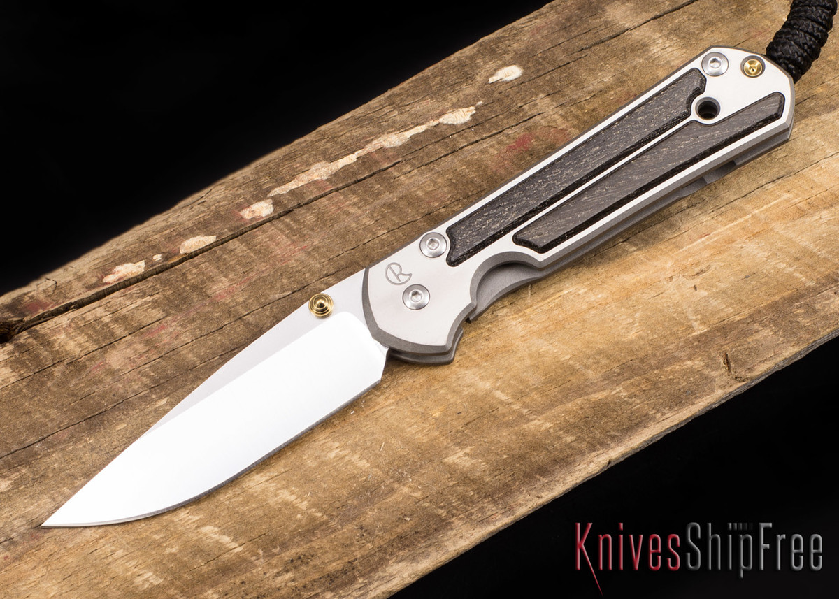 Chris Reeve Knives: Small Sebenza 21 - Bog Oak - 041025