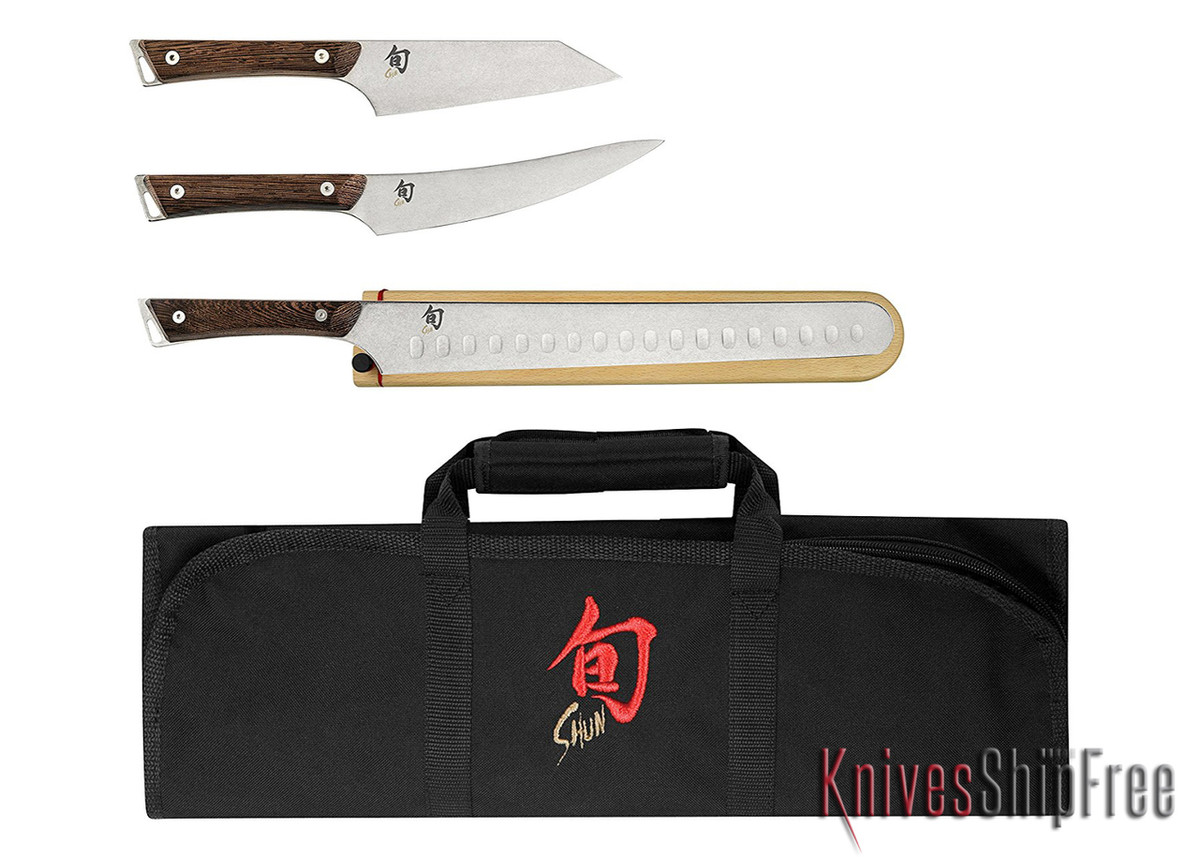 Shun Knives: Kanso 4pc. BBQ Set - SWTS0450
