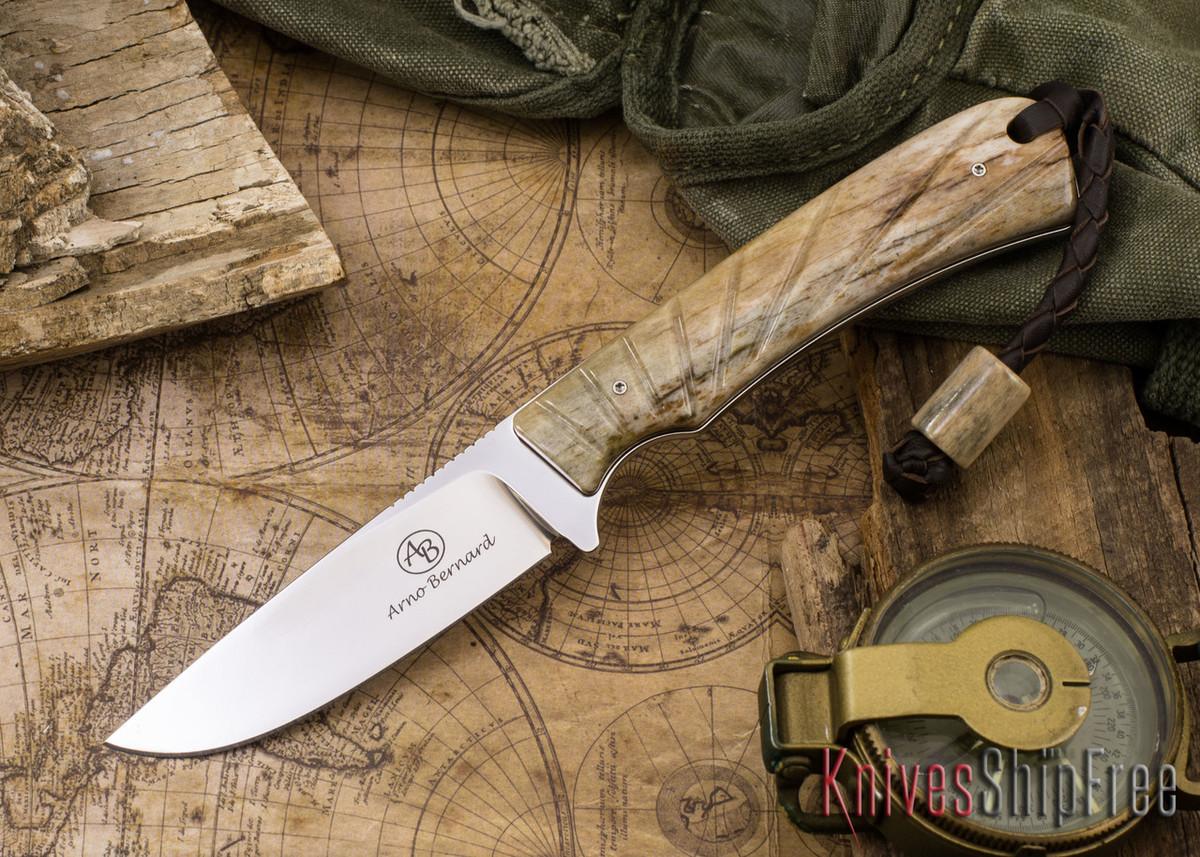 Arno Bernard Knives: Badger - Giraffe Bone 16 primary image