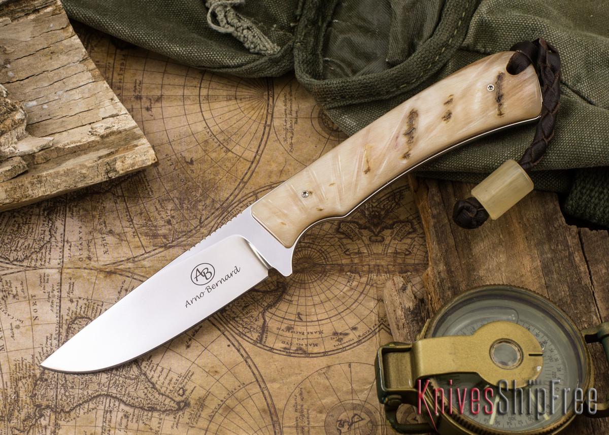 Arno Bernard Knives: Badger - Sheep Horn 03 primary image