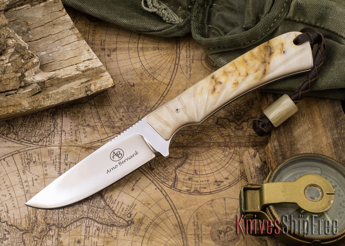 Arno Bernard Knives: Badger - Sheep Horn 07 primary image