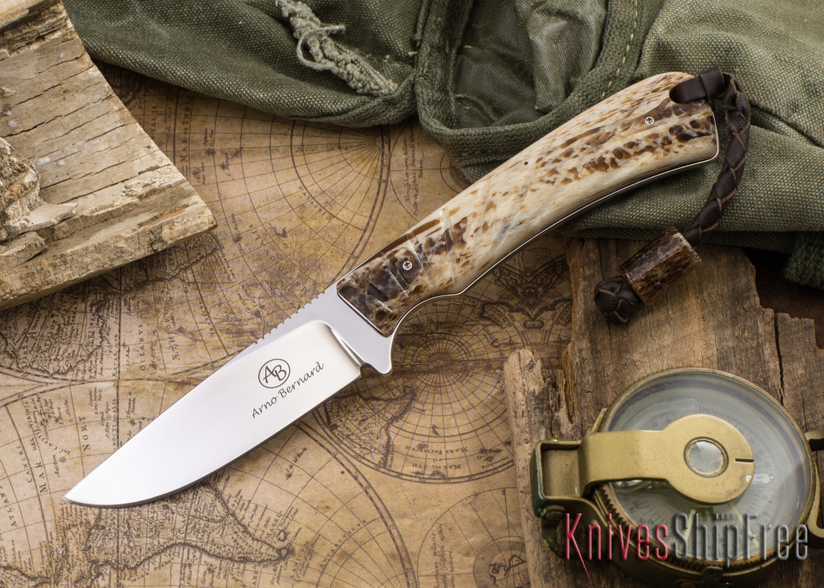 Arno Bernard Knives: Badger - Kudu Bone 04 primary image