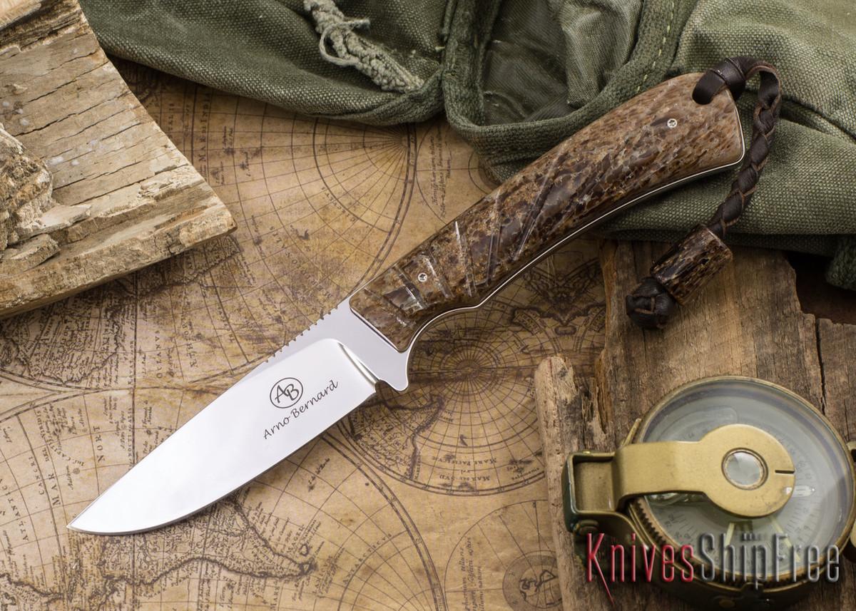 Arno Bernard Knives: Badger - Kudu Bone 06 primary image