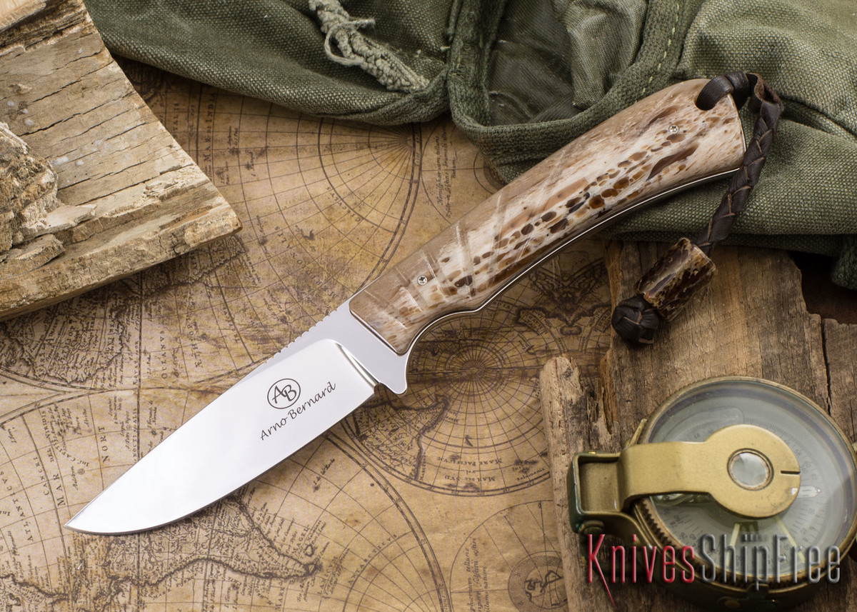Arno Bernard Knives: Badger - Kudu Bone 07 primary image
