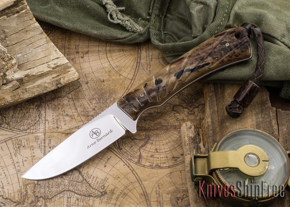 Arno Bernard Knives: Badger - Kudu Bone 09 primary image