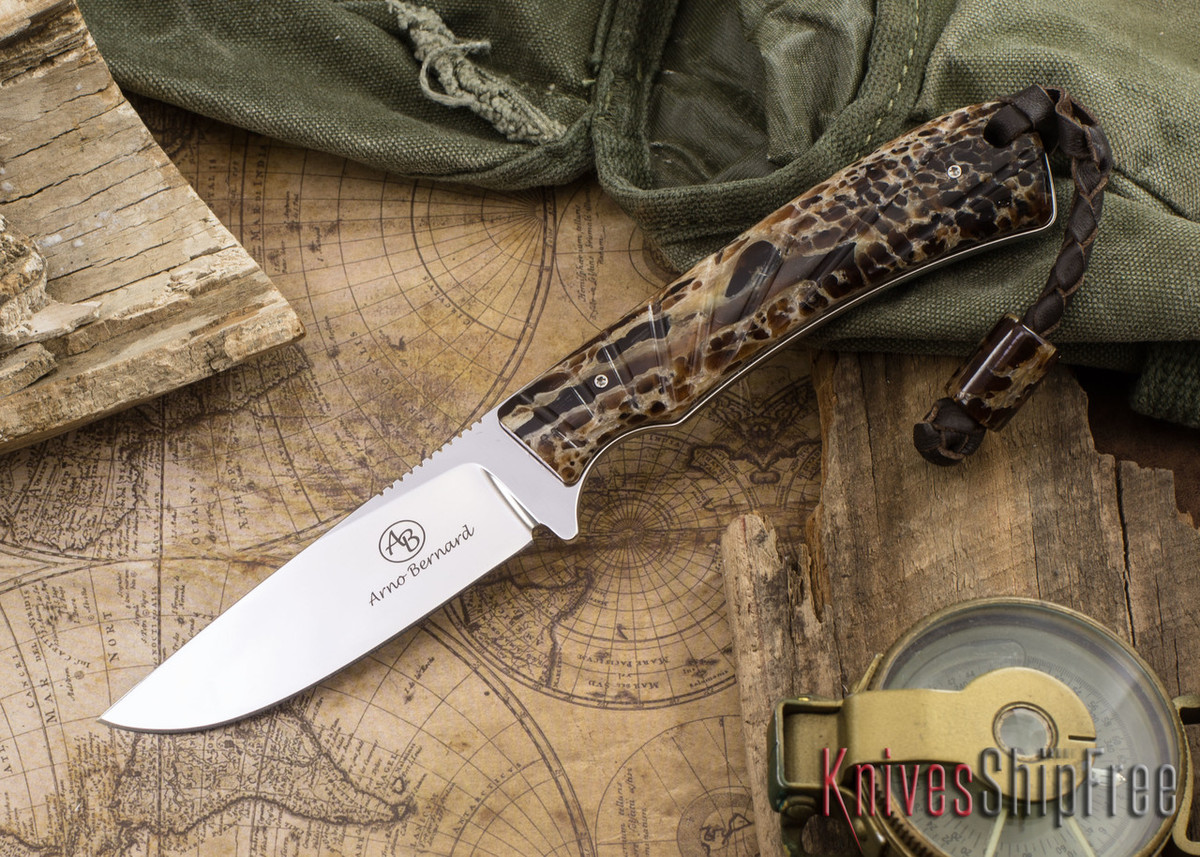 Arno Bernard Knives: Badger - Kudu Bone 12 primary image