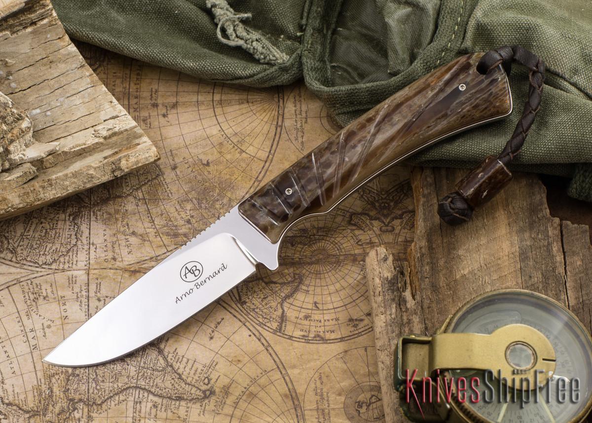 Arno Bernard Knives: Badger - Kudu Bone 14 primary image