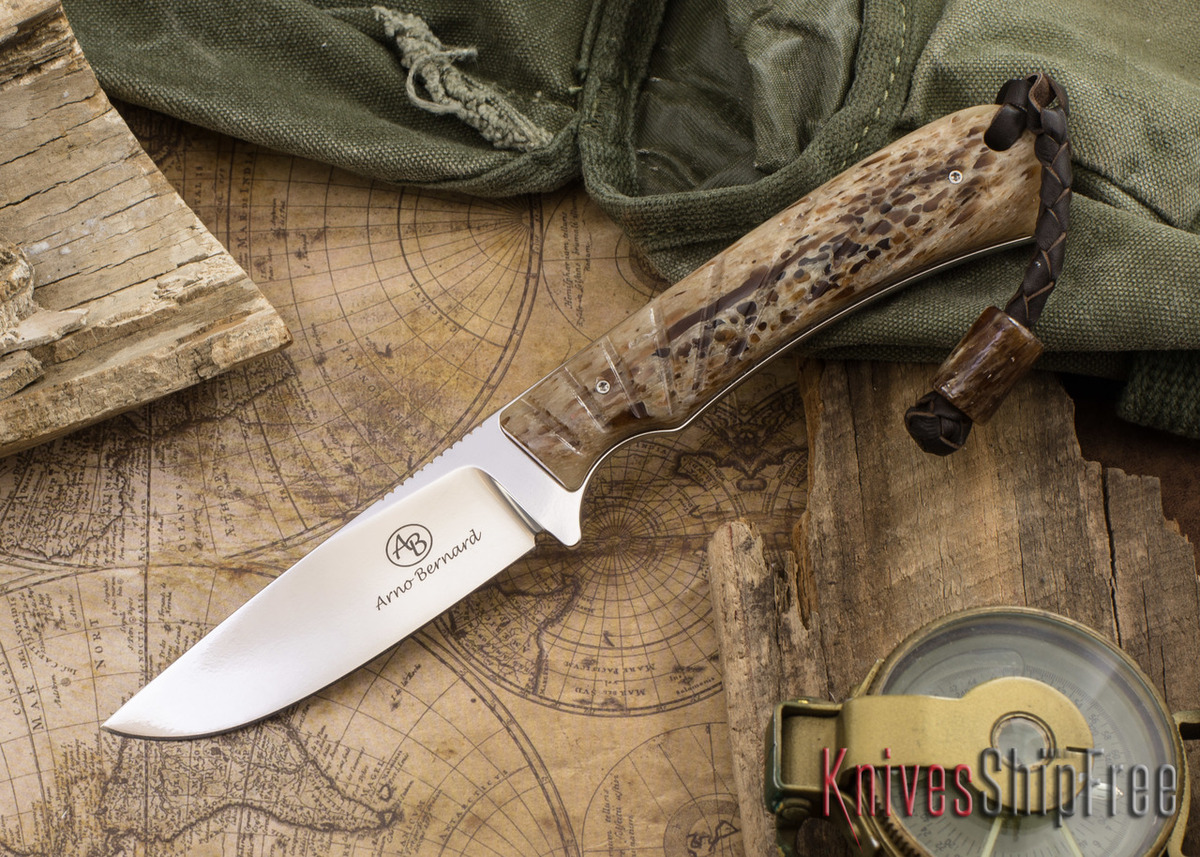 Arno Bernard Knives: Badger - Kudu Bone 16 primary image