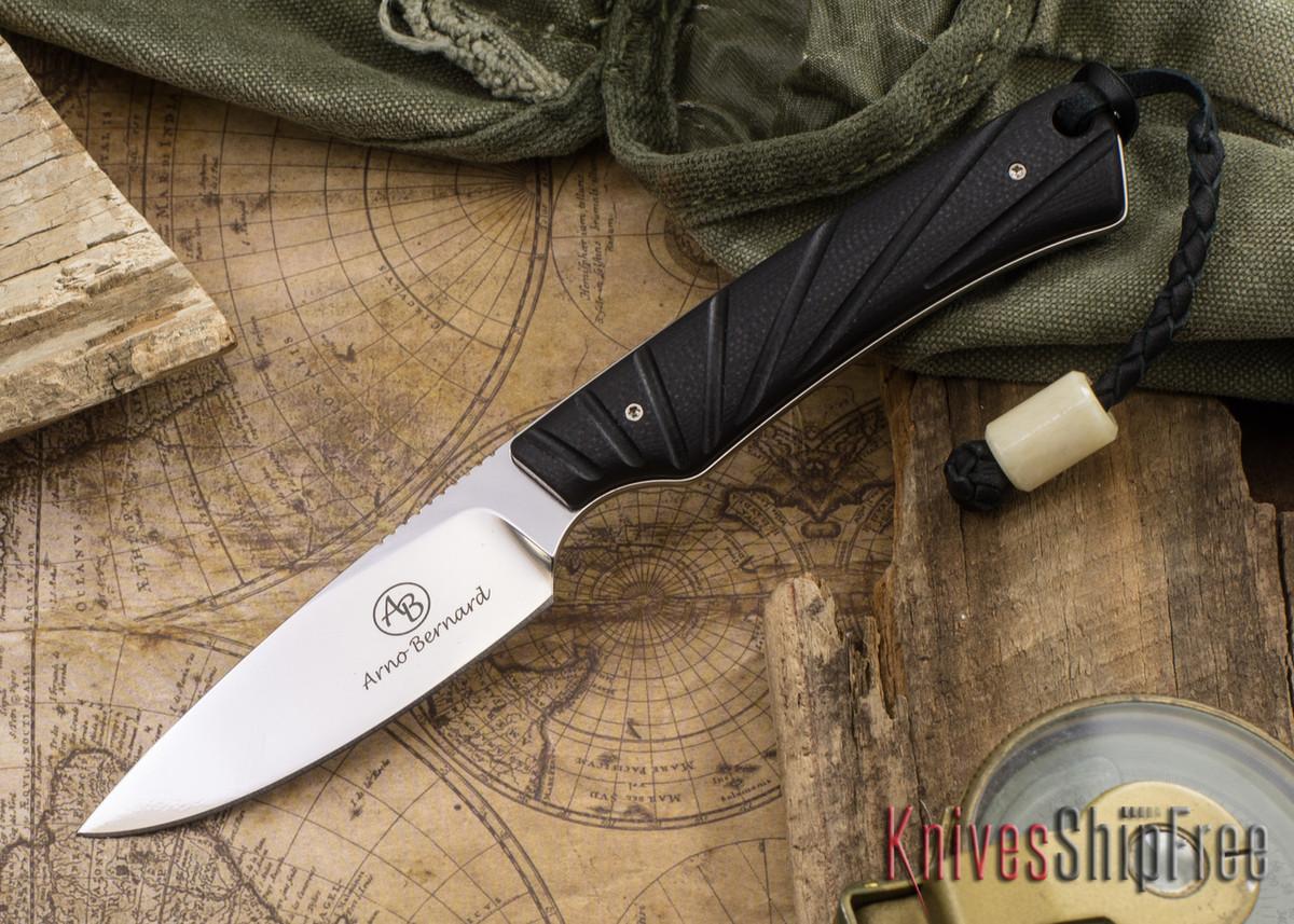 Arno Bernard Knives: Marmoset - Black G-10 primary image