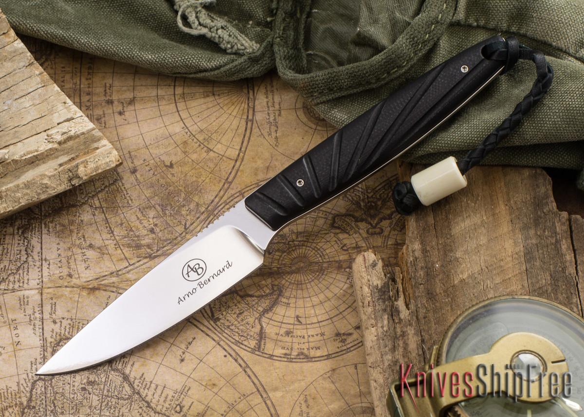 Arno Bernard Knives: Bateleur - Black G-10 primary image