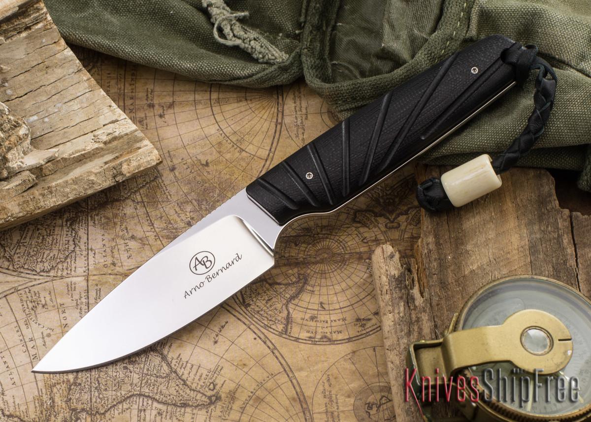 Arno Bernard Knives: Bongo - Black G-10 primary image