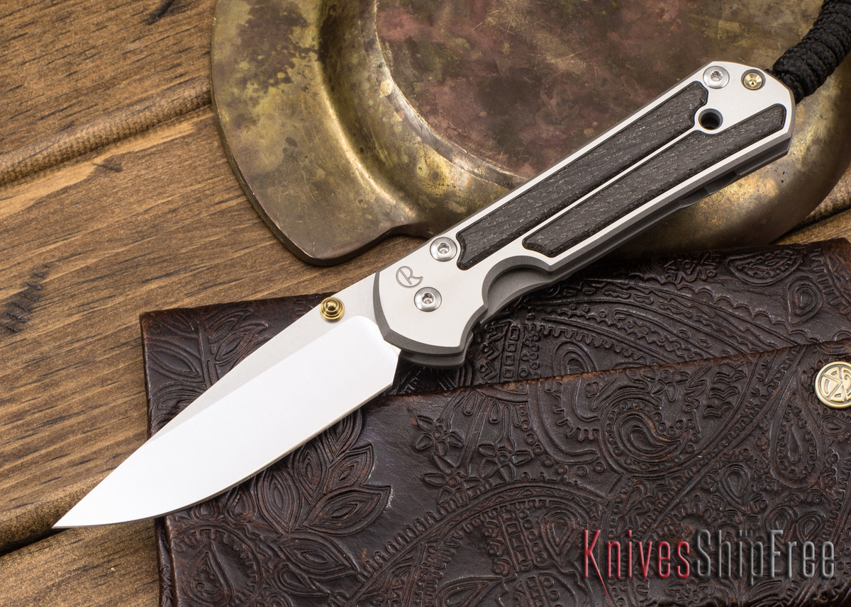 Chris Reeve Knives: Small Sebenza 21 - Bog Oak - 041306 primary image